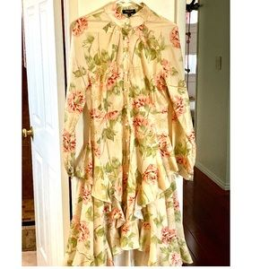 Zimmerman inspired like floral dress Sz Small